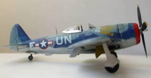 "Republic P-47D-25 ""Thunderbolt"" - автор модели Рубен (Каропка.ру)"
