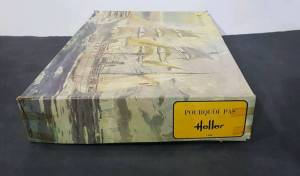 """Pourquoi Pas?"" (L950) - комплект фирмы ""Heller"", масштаб 1/100, второе издание, начало 1970-х гг."
