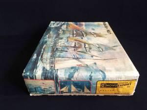 """""""Pourquoi Pas?"""" - коробка ПО """"Сихарули"""" с логотипом фирмы """"Novoexport"""", 1981 г."""