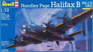 """Handley Page Halifax B. Mk.I/II, GR II"", Revell, 2011"