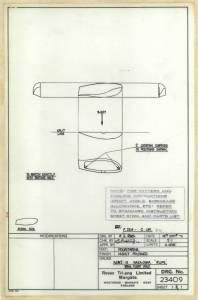 "Nakajima\Mitsubishi A6M2-N ""Rufe"" - оригинальный чертеж модели FROG"
