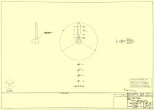 "Nakajima\Mitsubishi A6M2-N ""Rufe"" - оригинальный чертеж модели FROG."