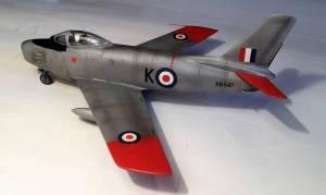 """North-American F86-E Sabre"" - автор модели С.Васюткин"