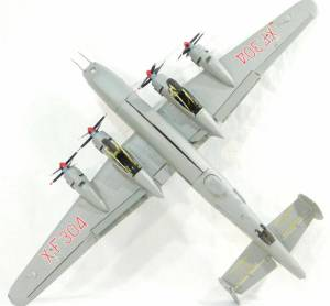 """""""Avro Shackleton MR.3 Long Range Maritime Reconnaissance Bomber"""". FROG. Deluxe Series. F.172"""