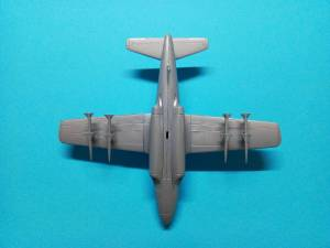"""Douglas F3D """"Skyknight"""" - модель собранная в состоянии """"из коробки"""""""