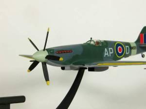 "Supermarine ""Spitfire"" F.Mk.XIV, AP-D, RM619, No.130 Squadron RAF, 1945 - автор М.Чизганов, фото С.Боровик"