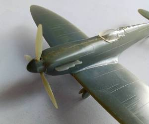 "Supermarine ""Spitfire"" Mk.Ia\Mk.Va - производство ДФИ, вторая половина 1980-х гг."