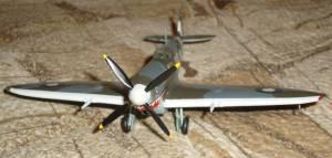 "Supermarine ""Spitfire"" Mk.VIII, RAAF, RG-V, A58-497 - Автор модели - Михаил, участник сайта ""Украиньска модельна хата"""
