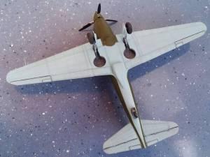 Сухой Су-1 - автор модели С.Васюткин
