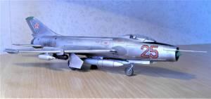 Су-7БКЛ, бортовой номер 25, ВВС СССР - автор модели С.Васюткин