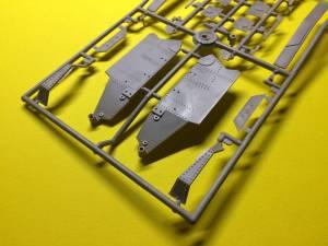 """""""Танк Т-18\Tank T-18"""" (3) - отливки из комплекта первого фирмы """"Aer"""", весна 1994 г."""