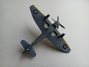 "Hawker ""Tempest"" Mk.V - автор модели С.Васюткин"