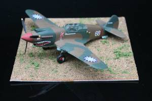 "Curtiss P-40B ""Tomahawk"" - Frog Models Appreciation Page"
