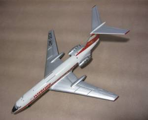 """Ту-134, DM-SCA, """"Interflug"""" - автор модели В.Троицкий"""
