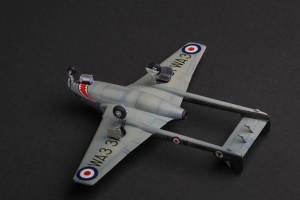 """De Havilland """"Vampire"""" Mk.5, WA331\A-T, No.112 Sqn.RAF, Fassberg, 1951"""