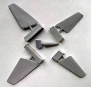 Конверсионный набор для модели Heinkel He-162D