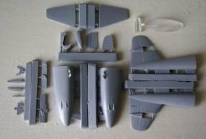 "Набор для конверсии модели ""Meteor"" F.Mk.4 (FROG) в модификацию ""Meteor"" F.Mk.8"