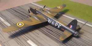 "Vickers Armstrong ""Wellington"", L4251, RAF, 1941 - автор модели С.Васюткин"