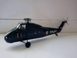 "Westland ""Wessex"" HAS.1, XM834, RNAS Culdrose, Royal Navy (FAA) - автор  модели М.Чизганов"