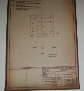 """Фотографии оригинальных чертежей для модели Armstrong Whithwort """"Whitley"""" B.Mk.V \ GR.Mk.VII"""