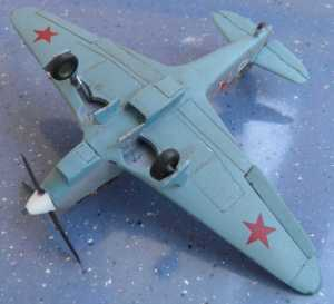 "Як-7Б ""без гаргота"" - автор С.Васюткин"