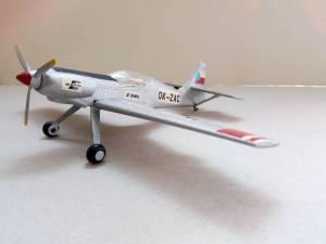 Zlin Z-50L, OK-ZAC - автор модели М.Чизганов