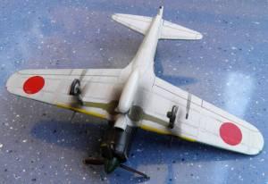 "Mitsubishi A6M2 ""Zero"" - автор модели С.Васюткин"