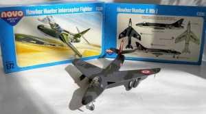 Hawker Hunter F.Mk.1 - автор модели С.Ф.Васюткин