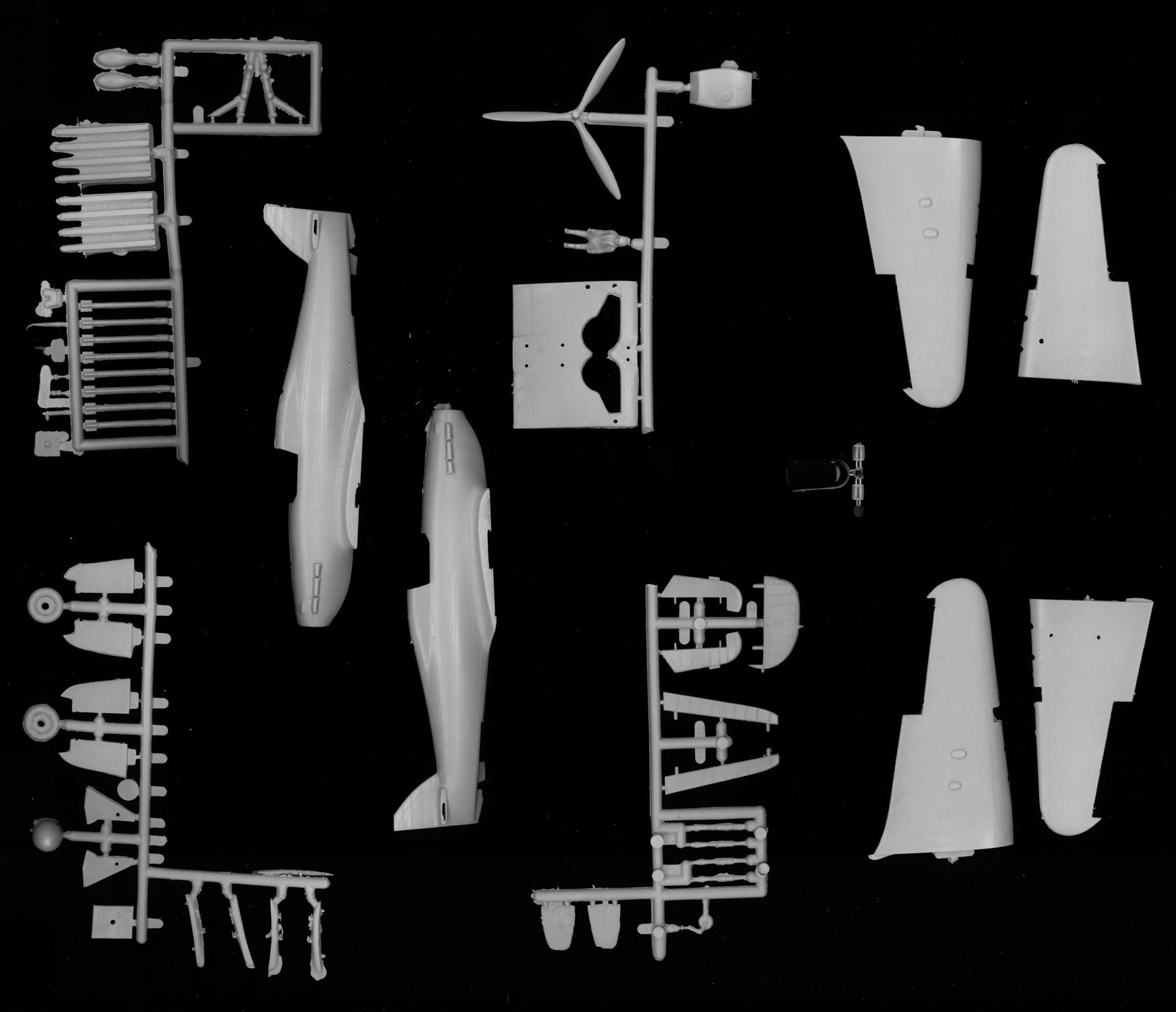 "Hawker ""Hurricane"" Mk.IIc (""Эксперимент"", комплект) Image"